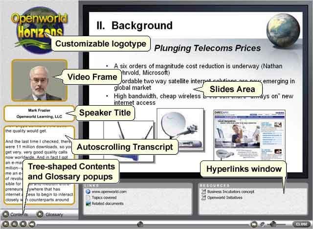 Openworld FlashPresenter Screen shot